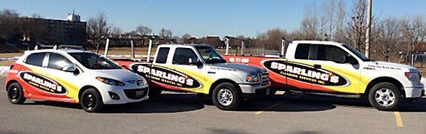 Sparling's trucks